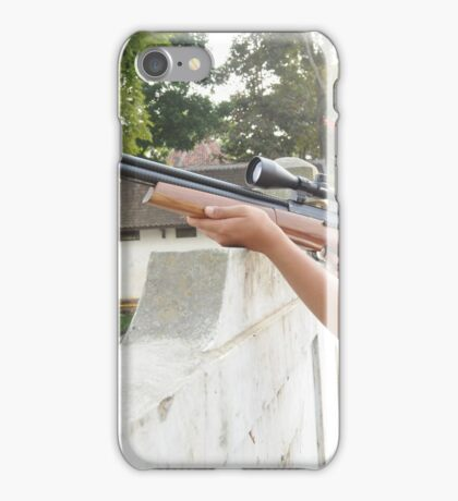 Targetting with Riffle iPhone Case/Skin