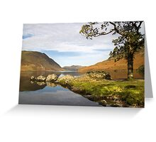 Crummock Water - Buttermere Greeting Card
