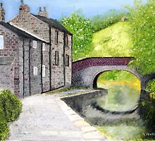 Brearley Lane Bridge by Digital-Limn
