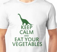 Keep calm and eat your vegetables Unisex T-Shirt