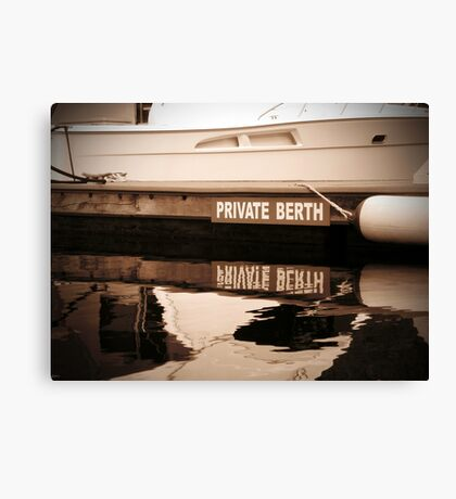Private Berth Canvas Print