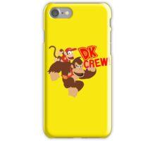 Donkey Kong (DK) Crew! iPhone Case/Skin