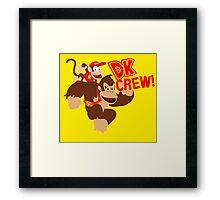 Donkey Kong (DK) Crew! Framed Print