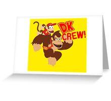 Donkey Kong (DK) Crew! Greeting Card