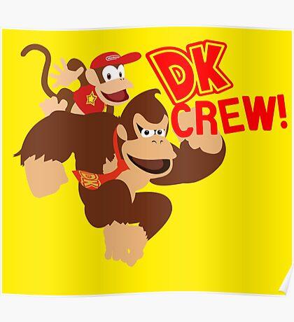 Donkey Kong (DK) Crew! Poster