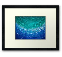 Ride the Wave original painting Framed Print