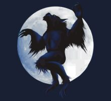 Werewolf and Moon by Lotacats