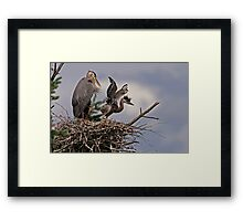 Close to the Edge Framed Print
