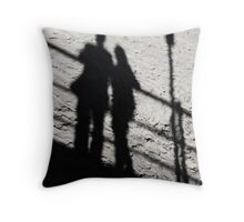 Couple (Shadow) Throw Pillow
