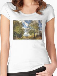 Country Road Women's Fitted Scoop T-Shirt