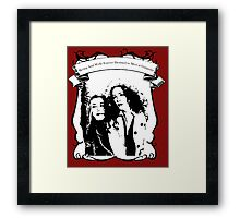 Destined To Meet At Gunpoint Framed Print