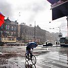 Rain in Amsterdam by andreisky