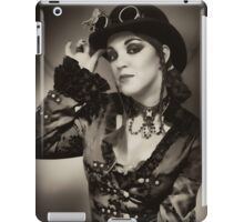 Steampunk in Sepia iPad Case/Skin