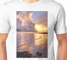 Storm Clouds at Sunset Unisex T-Shirt