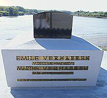 St Amands - E. Verhaeren's Thomb # I by Gilberte