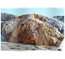 Orange Spring Mound, Yellowstone NP Poster