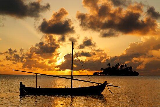 Golden Sea by Norbert Probst