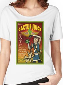 Cactus Juice Women's Relaxed Fit T-Shirt