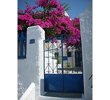 Greek Scene Photographic Print