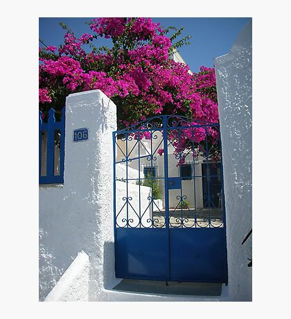 Greek Scene Photographic Print
