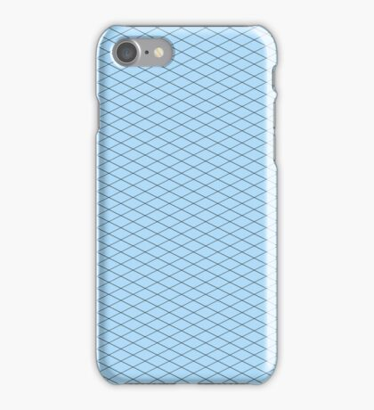 Blue Isometric! iPhone Case/Skin