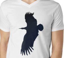 Big Dark Bird  Mens V-Neck T-Shirt