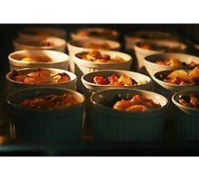 food lit Photographic Print