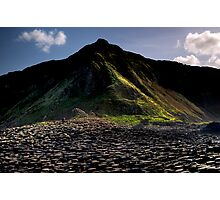 Alone at The Giants Causeway Photographic Print