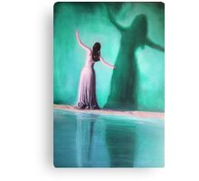 The Intoxication Of Shadows Canvas Print