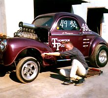 Jr. Thompson's 41 Willys Gasser (Views: 1565) by Rhonda Strickland