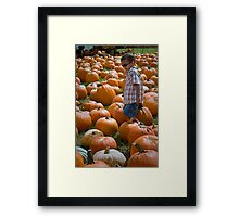 search for THE GREAT PUMPKIN Framed Print