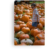 search for THE GREAT PUMPKIN Canvas Print