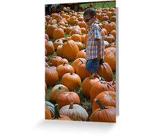 search for THE GREAT PUMPKIN Greeting Card