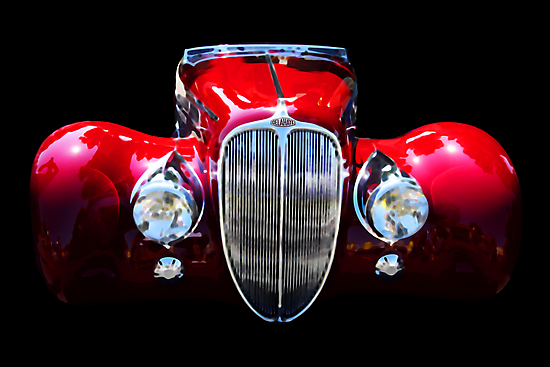 Delahaye Reinterpreted by Wing Tong