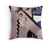 Mind Your Fingers! Throw Pillow