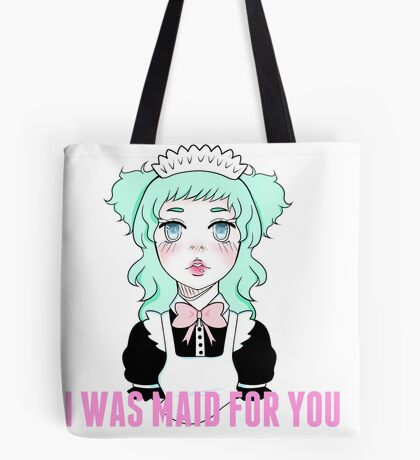 MAID FOR YOU Print Tote Bag