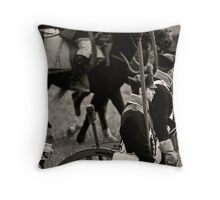 America in 1812 Series - Crown Forces Throw Pillow