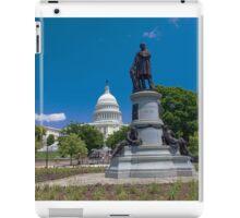 James A. Garfield Monument iPad Case/Skin