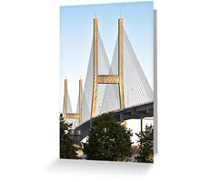 The Bridge (Dedicated to Hart Crane) Greeting Card