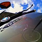 BMW K1200 Motorcycle Skyward bound by Dave McBride