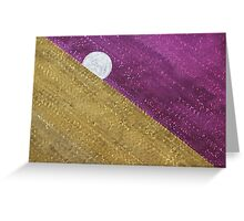 Supermoon original painting Greeting Card
