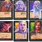 Altered Cards: Lord of the Rings by kenmeyerjr