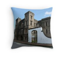 Old Jail House - Charleston, SC Throw Pillow