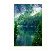 Pristine Alpine Lake Art Print