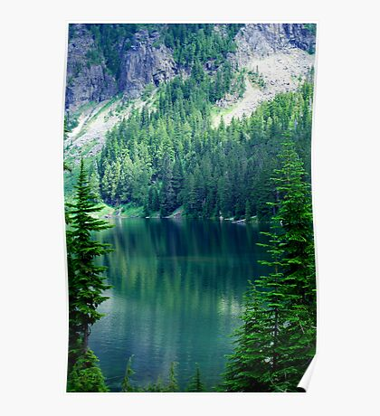 Pristine Alpine Lake Poster