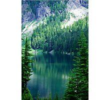 Pristine Alpine Lake Photographic Print