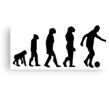 EVOLUTION SOCCER Canvas Print