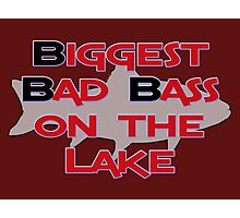 Biggest Bad Bass on the Lake Photographic Print
