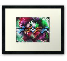 Stampede Framed Print
