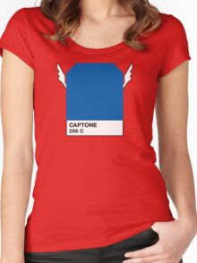 CAPTONE Women's Fitted Scoop T-Shirt